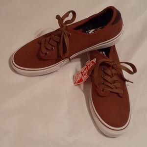 Van's Camden Deluxe Brown Skate Shoe